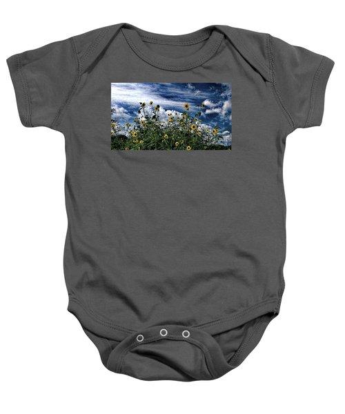 Wildflowers On The Brazos Baby Onesie