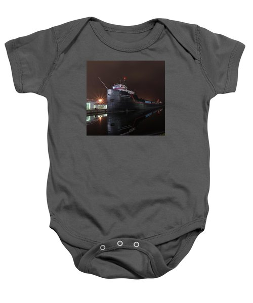 William G Mather At Night  Baby Onesie
