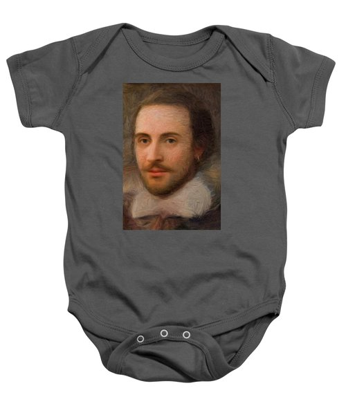William Shakespeare Baby Onesie