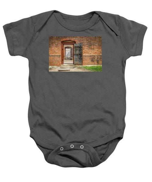 Williamsburg Public Gaol Baby Onesie