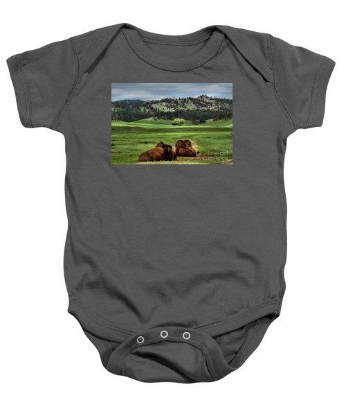Wind Cave Bison Baby Onesie