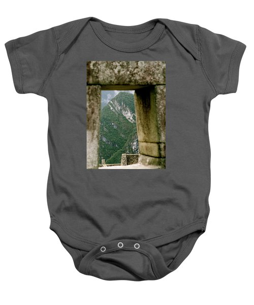 Window To The Gifts Of The Pachamama Baby Onesie