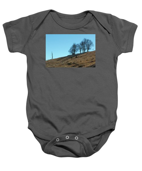 Windswept Trees - December 7 2016 Baby Onesie