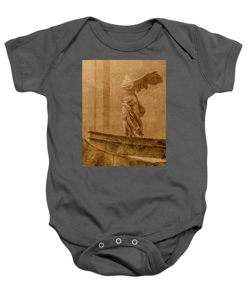 Paris, France - Louvre - Winged Victory Baby Onesie