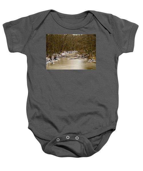 Winter Creek Baby Onesie