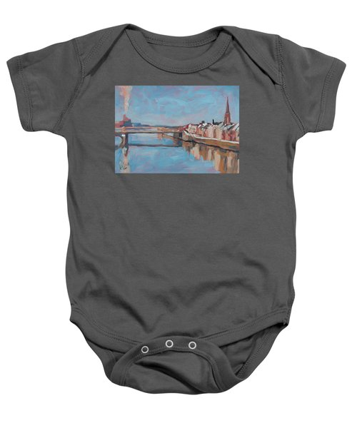 Winter In Wyck Maastricht Baby Onesie