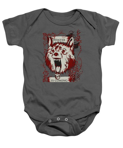 Winter Is Coming Baby Onesie