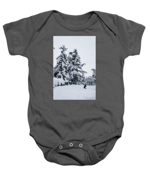 Winter Trekking-2 Baby Onesie
