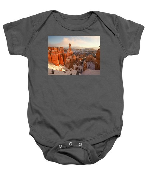 Winter Wonderland Baby Onesie