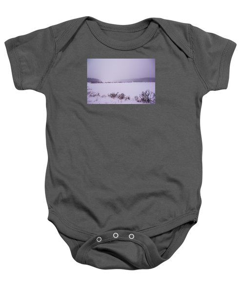 Winter's Desolation Baby Onesie