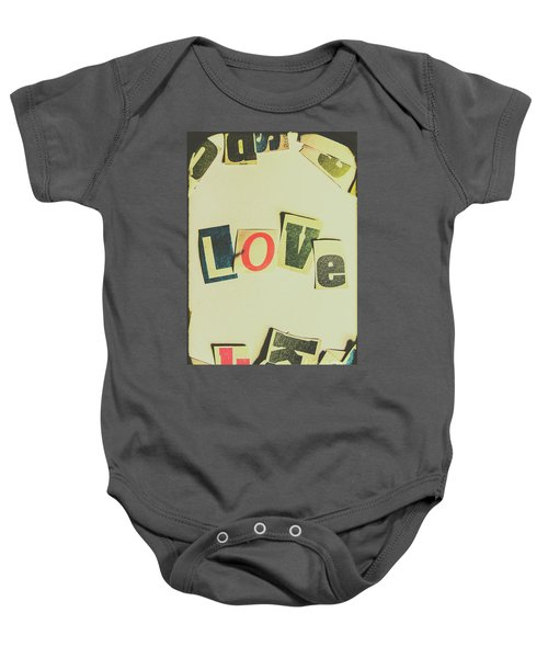 Wisest Word Of Them All Baby Onesie