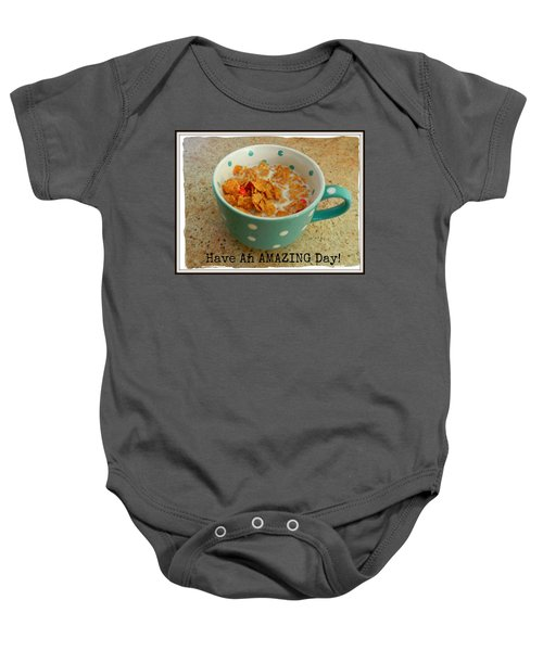 Wishes For The Day Baby Onesie
