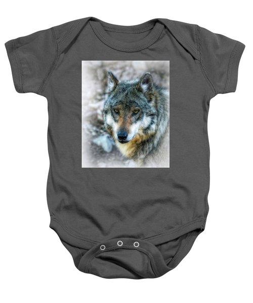 Wolf Gaze Baby Onesie