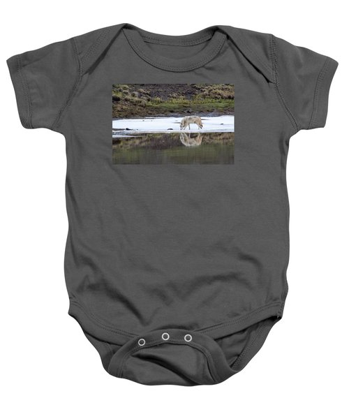 Wolflection Baby Onesie