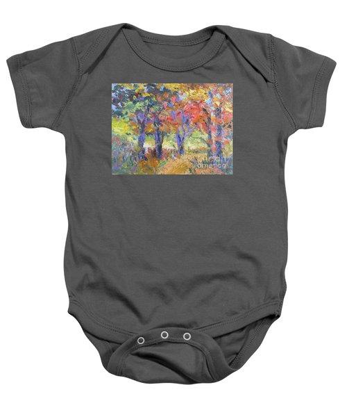 Woodland Walk Baby Onesie