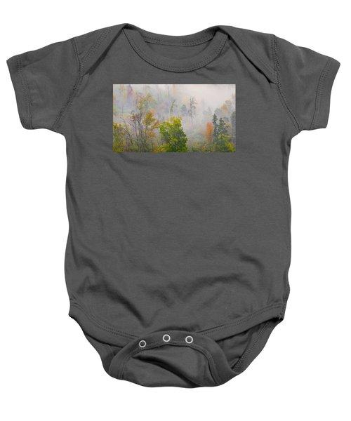 Woods From Afar Baby Onesie