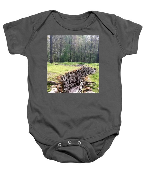 World War One Trenches Baby Onesie