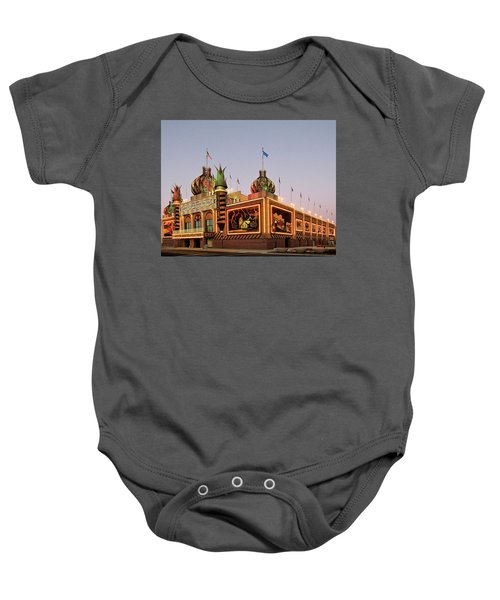 World's Only Corn Palace 2017-18 Baby Onesie