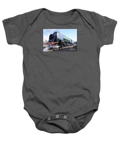 Worm's Eye View Baby Onesie