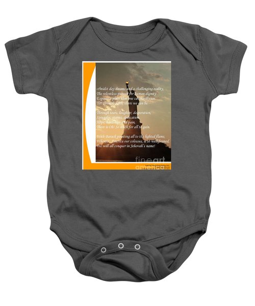 Writer, Artist, Phd. Baby Onesie by Dothlyn Morris Sterling