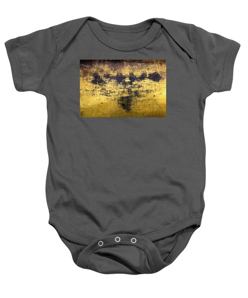Baby Onesie featuring the photograph Writing On Metal, Beijing, 2016 by Hitendra SINKAR