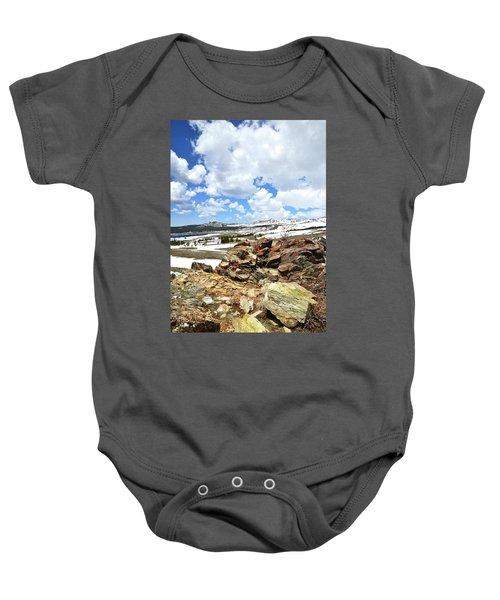 Wyoming's Big Horn Pass Baby Onesie