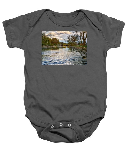 Yahara River, Madison, Wi Baby Onesie
