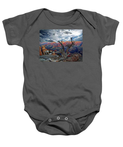 Yaki Point Grand Canyon Baby Onesie