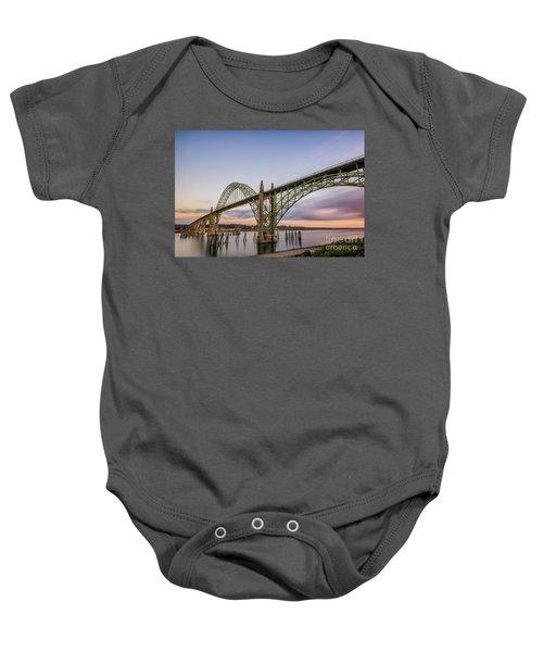 Yaquina Bay Bridge Baby Onesie