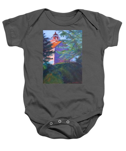Yaquina Bay Lighthouse  Baby Onesie