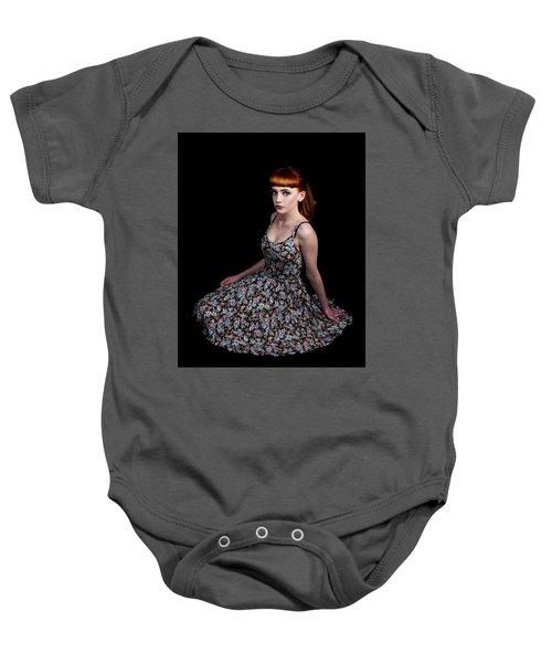 Yasmin Skirt Left Baby Onesie