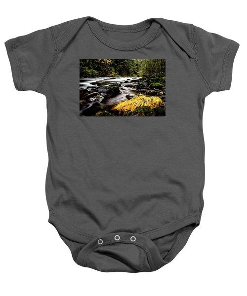 Yello Grass Baby Onesie