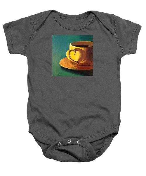 Yellow Java Baby Onesie
