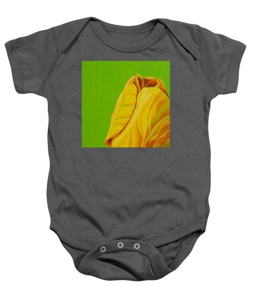 Yellow Somebuddy Baby Onesie