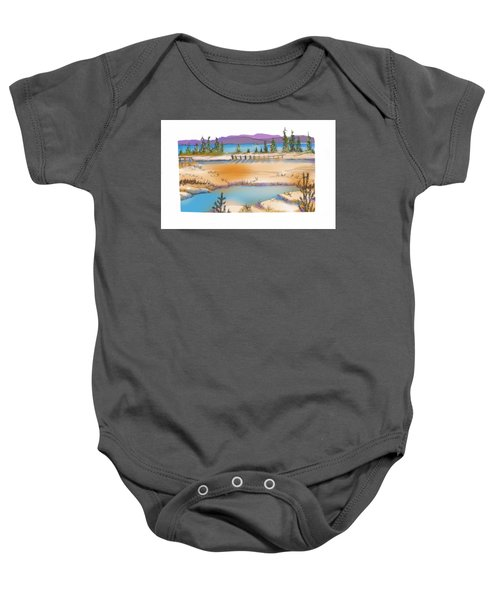 Yellowstone Baby Onesie by Kathryn Launey