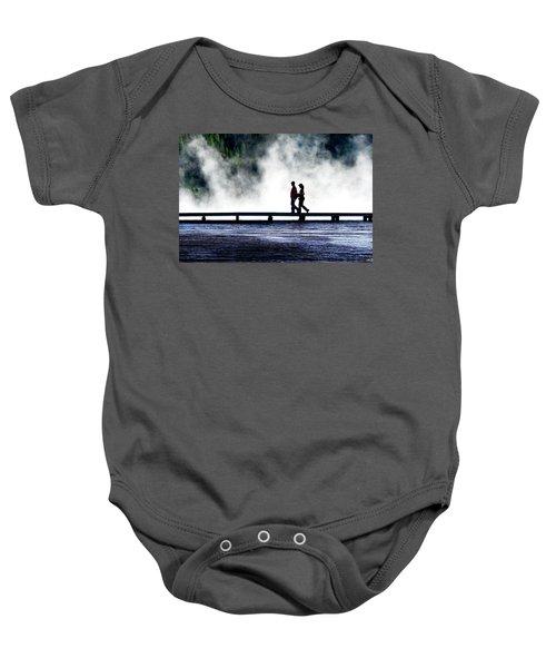 Yellowstone Walkers Baby Onesie