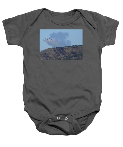 Yes Baby, Angels Do Make Shadows Baby Onesie