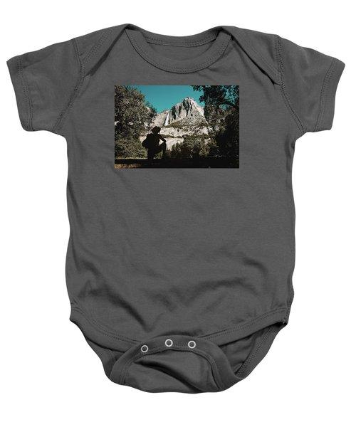 Yosemite Hiker Baby Onesie