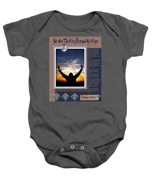 You Are The Wind Beneath My Wings Baby Onesie