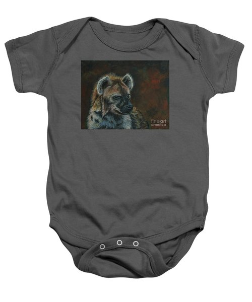 You Don't See Me Laughing......hyena Baby Onesie