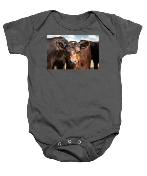 Young Angus Baby Onesie