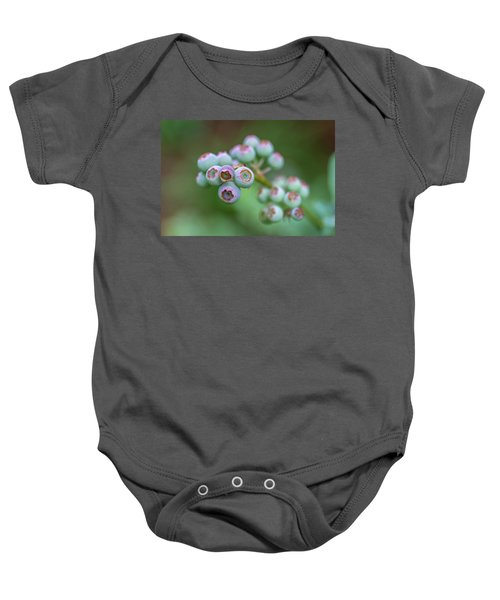 Young Blueberries Baby Onesie