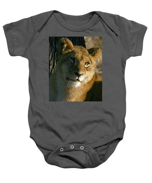 Young Lion Baby Onesie