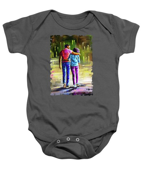 Young Lovers Baby Onesie