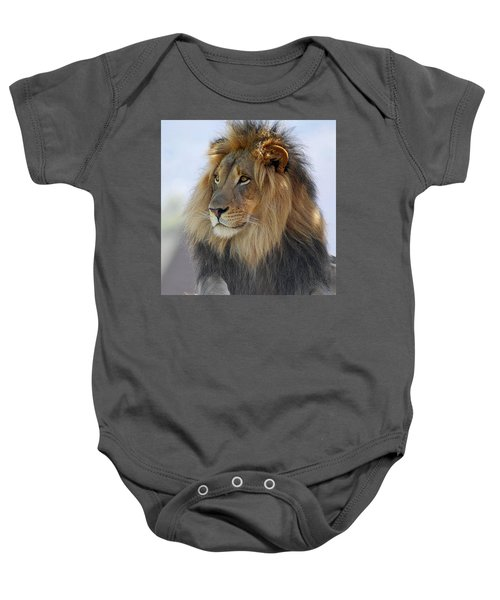Young Male Lion Baby Onesie