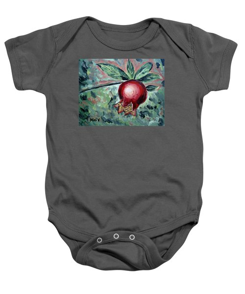 Young Pomegranate Baby Onesie