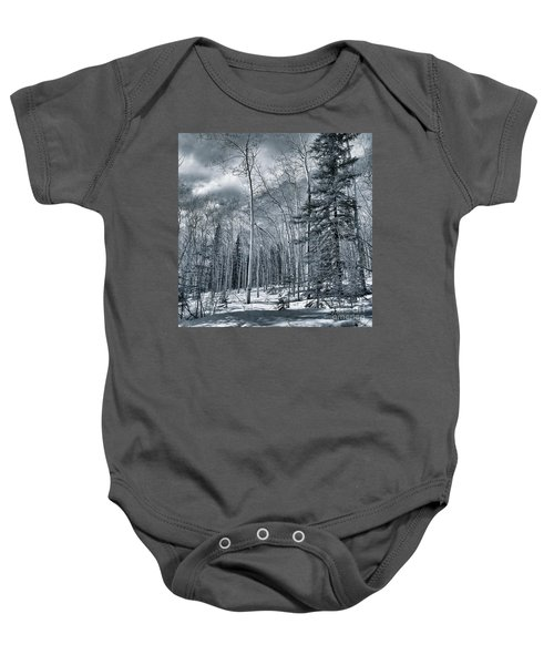 Land Shapes 35 Baby Onesie