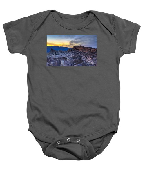 Zabriskie Point Sunset Baby Onesie