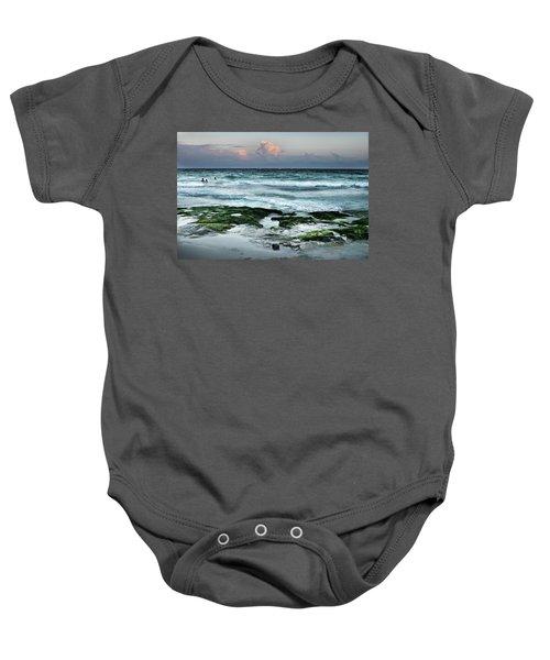Zamas Beach #7 Baby Onesie