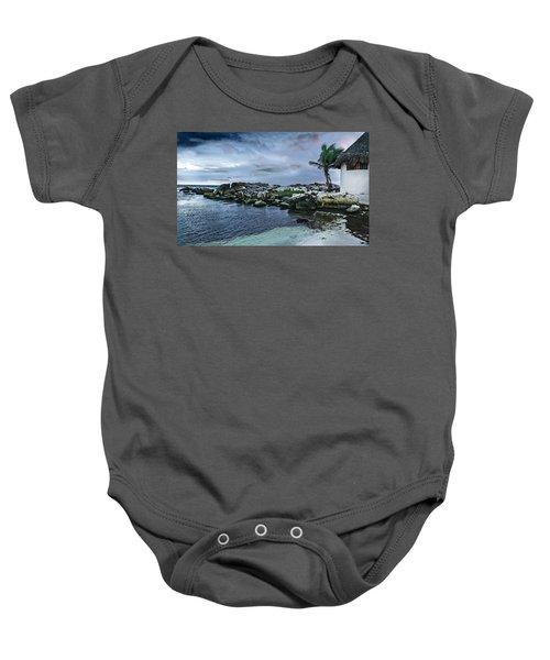 Zamas Beach #8 Baby Onesie